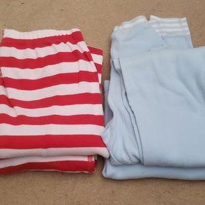 2 pairs boys Hannah Andersson pajamas